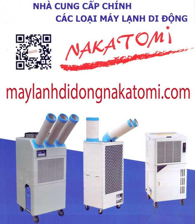 máy lạnh di động nakatomi nhật bản