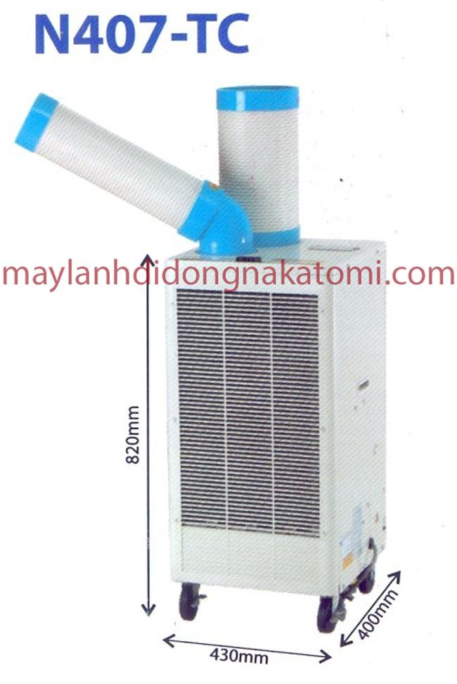 Máy lạnh di động nakatomi N407-TC