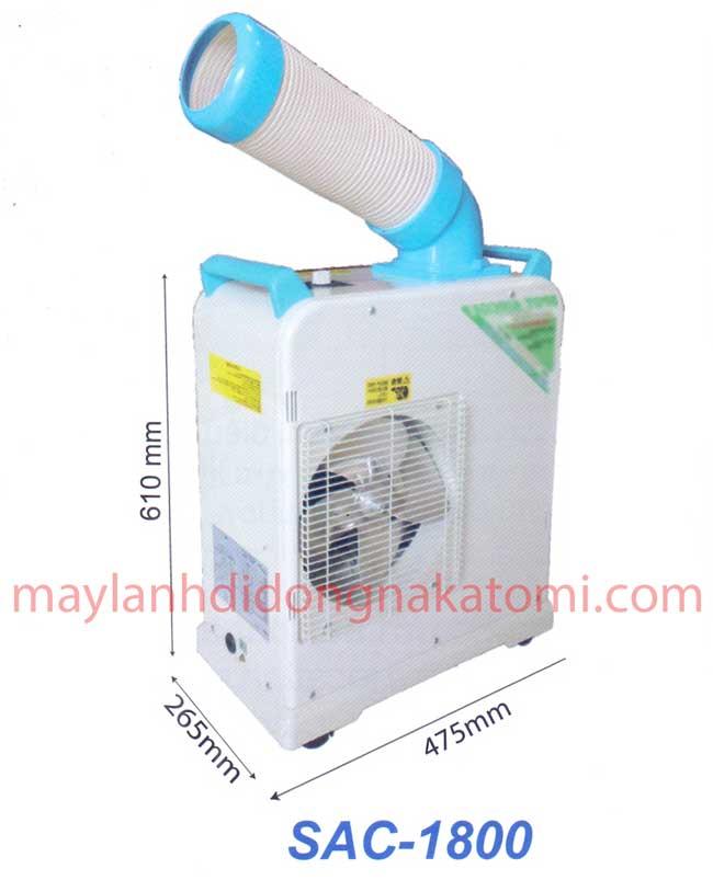 máy lạnh di động Nakatomi SAC 1800