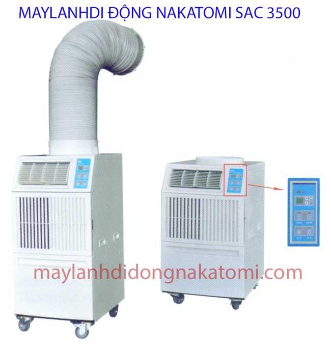 Máy lạnh di động Nakatomi SAC 3500