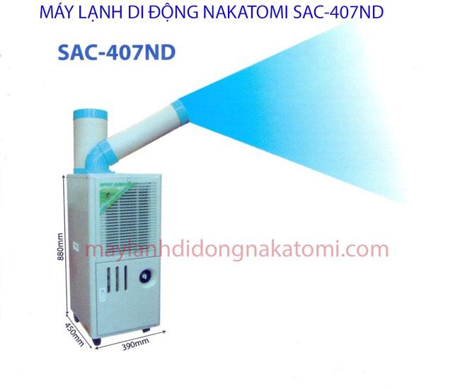 Máy lạnh di động SAC 407ND