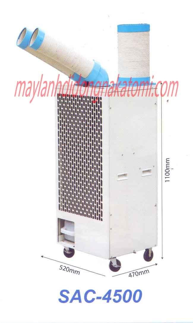 Máy lạnh di động nakatomi sac 4500