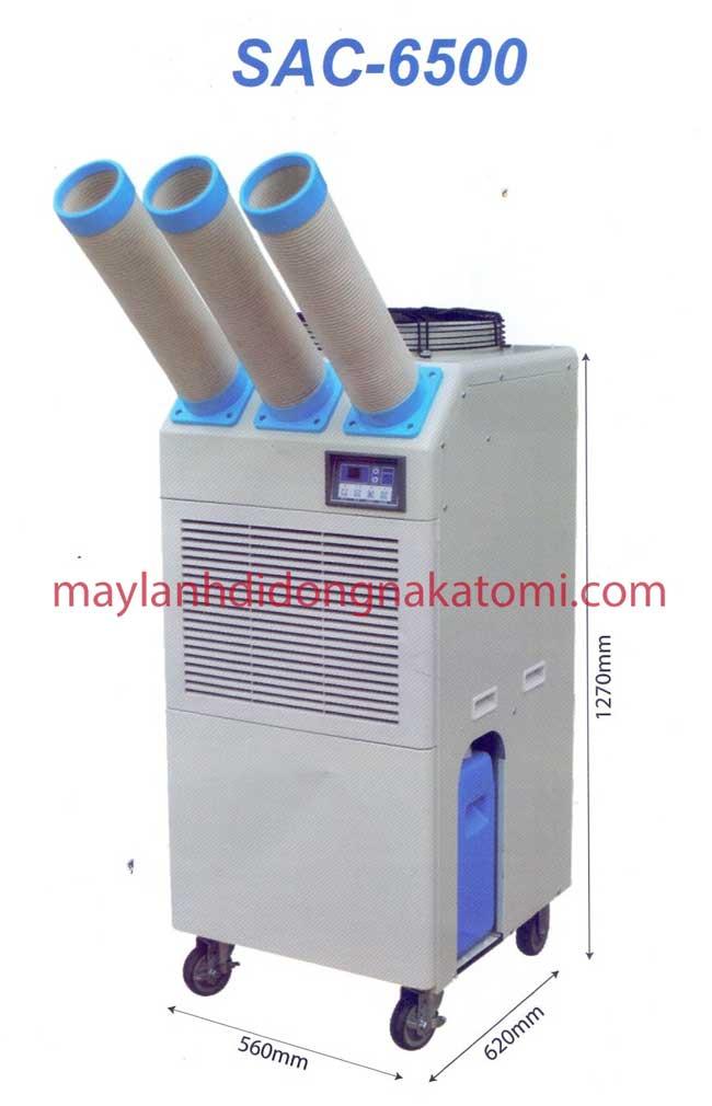 Máy lạnh di động Nakatomi SAC 6500