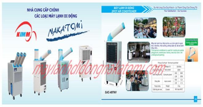Máy lạnh di động nakatomi7