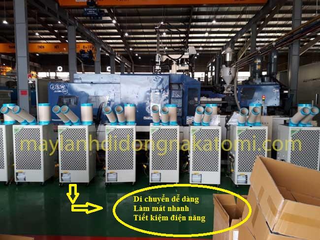 Lắp đặt máy lạnh di động nakatomi SAC-4500