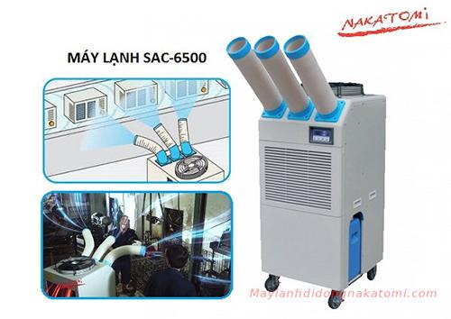 máy lạnh di động sac-6500 -1