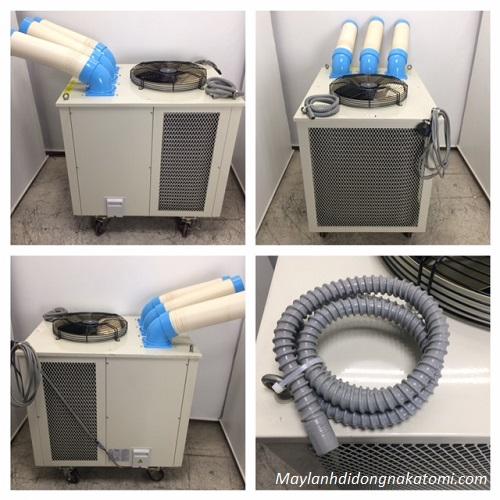 sử dụng máy lạnh di động
