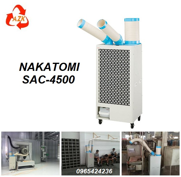 điều hòa di động nakatomi sac-4500