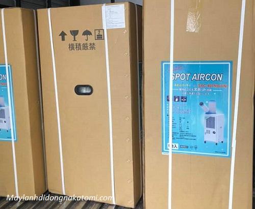 cách nhân viết máy lạnh di động nakatomi chính hãng