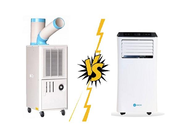 máy lạnh di động Nakatomi với máy lạnh di động thông thường