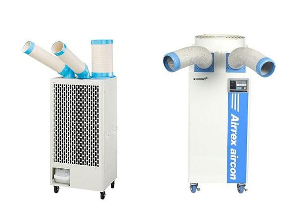 sự khác nhau giữa máy lạnh di động nakatomi và airrex